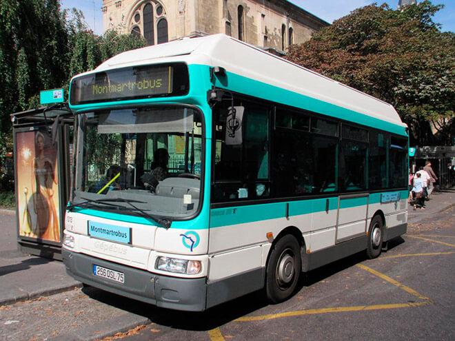 Автобусы MONTMARTROBUS