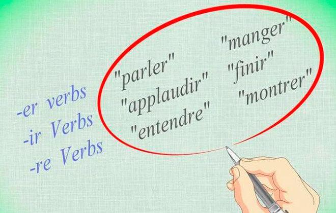Группы глаголов во французском языке