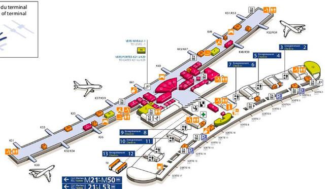 Схема терминала 2Е.
