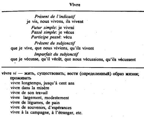 Неправильные французские глаголы