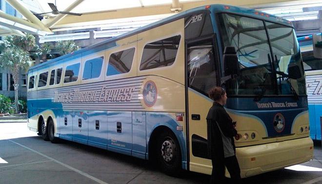 Из Парижа в Диснейленд на автобусе