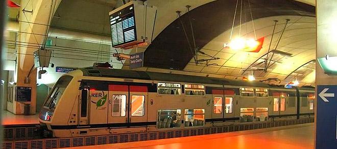 От Парижа до Версаля на поезде