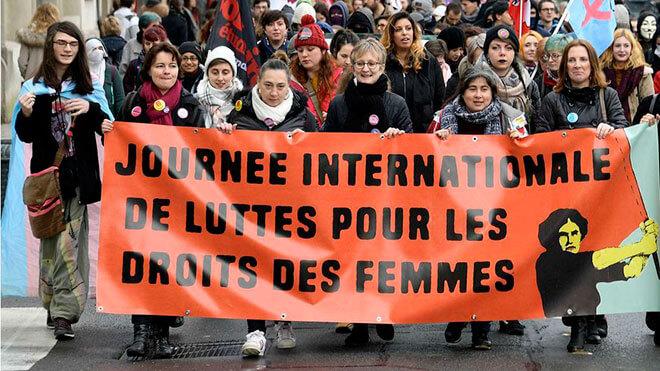 8 марта во Франции только для женщин