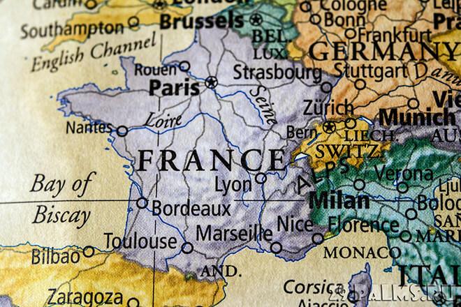 Список всех городов Франции