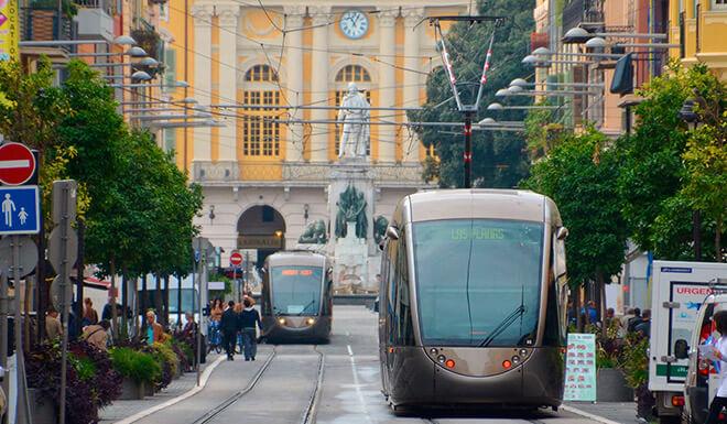 Общественный транспорт Ниццы