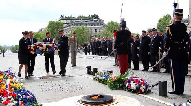 8 мая День победы в Франции