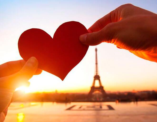 Поздравления на французском языке к 14 февраля