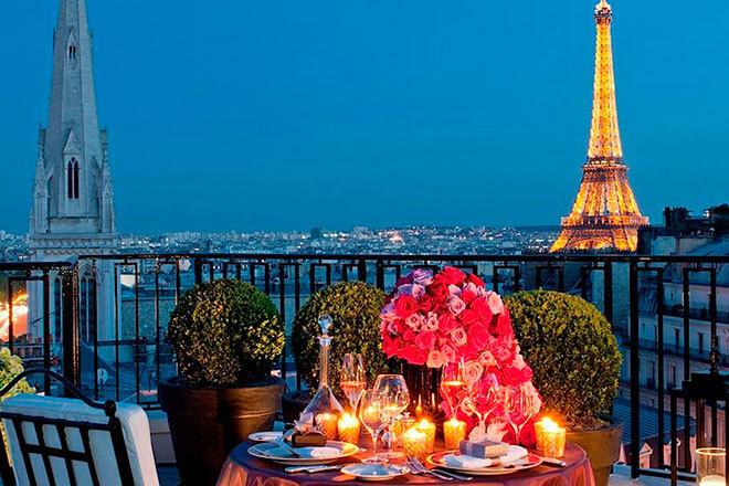День святого Валентина во Франции